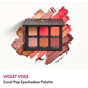 VIOLET VOSS Coral Pop Eyeshadow Palette from Ipsy